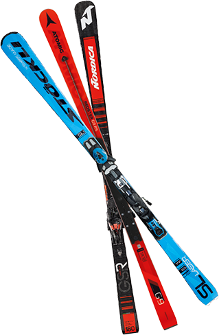 CHOOSE YOUR RENTAL SKIS