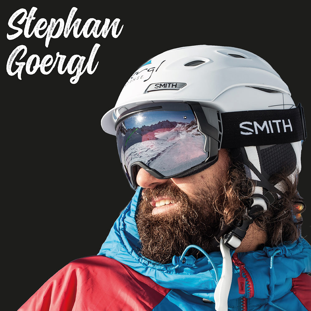 Freeriding with Stephan Goergl