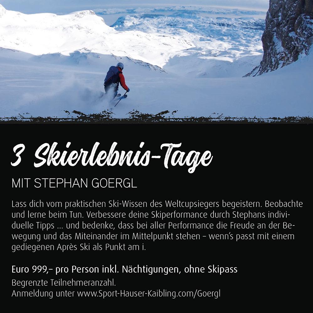Freeriden mit Stephan Goergl